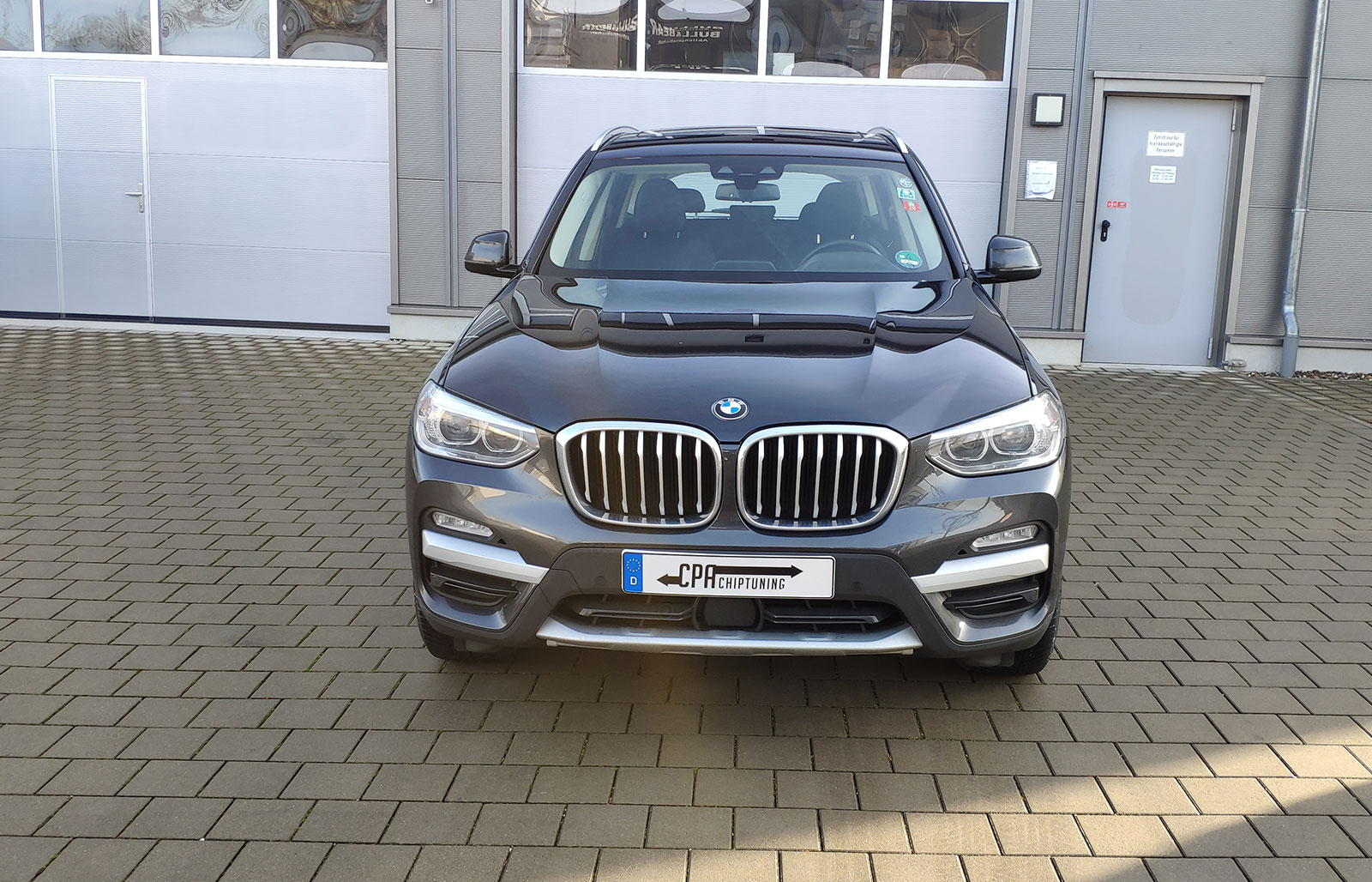 The BMW X3 (G01) xDrive20d testes