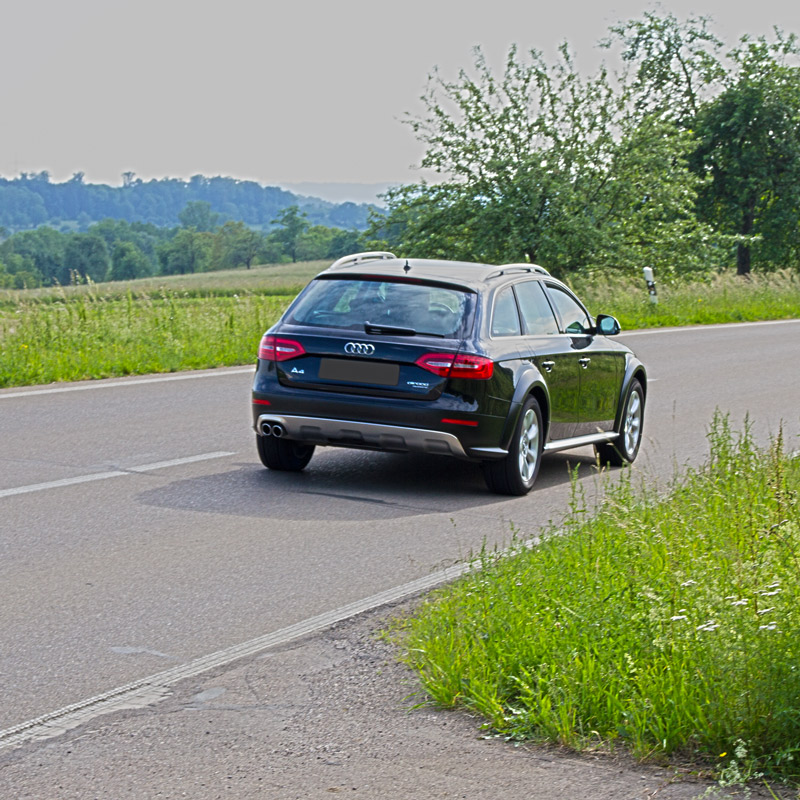 Tested. AudiA4allroad